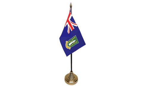 British Virgin Isles Table Flag Flags - United Flags And Flagstaffs