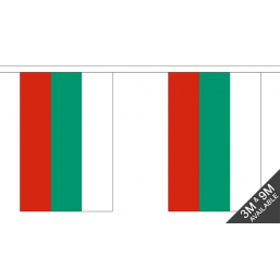 Bulgaria Flag  - Fabric Bunting Flags - United Flags And Flagstaffs