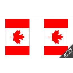 Canada Flag  - Fabric Bunting Flags - United Flags And Flagstaffs