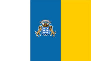 Canary Islands (State) National Flag Sewn Flags - United Flags And Flagstaffs