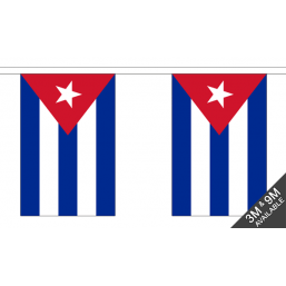 Cuba Flag - Fabric Bunting Flags - United Flags And Flagstaffs