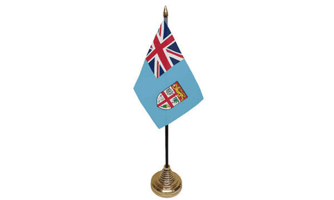 Fiji Table Flag Flags - United Flags And Flagstaffs