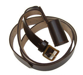 Ceremonial Accessories - Leather Carrier Strap & Bucket