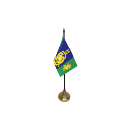 Logistics Regiment - Military Table Flag