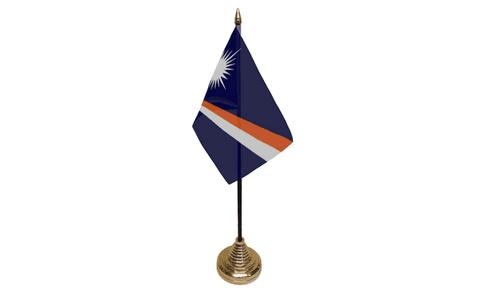 Marshall Islands Table Flag