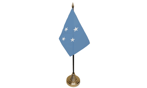 Micronesia Table Flag Flags - United Flags And Flagstaffs