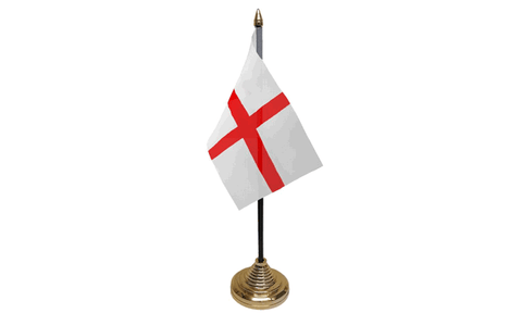 St George Table Flag Flags - United Flags And Flagstaffs