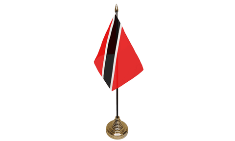 Trinidad & Tobago Table Flag