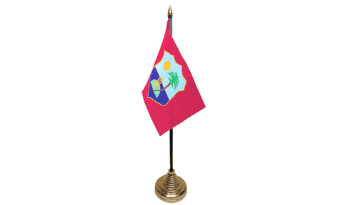West Indies Table Flag Flags - United Flags And Flagstaffs