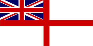 White Ensign (Royal Navy) Flag Sewn
