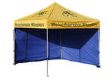 3000x3000mm Printed Gazebo Banners - United Flags And Flagstaffs
