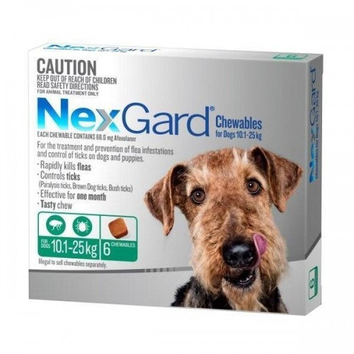 NexGard Medium Dog 10-25kg (3's)