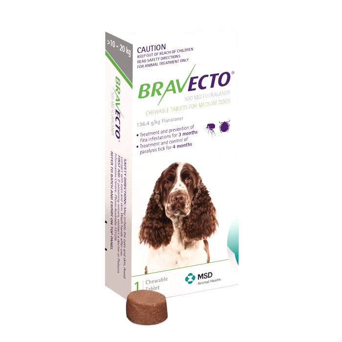 Bravecto Medium Dog (10-20kg)