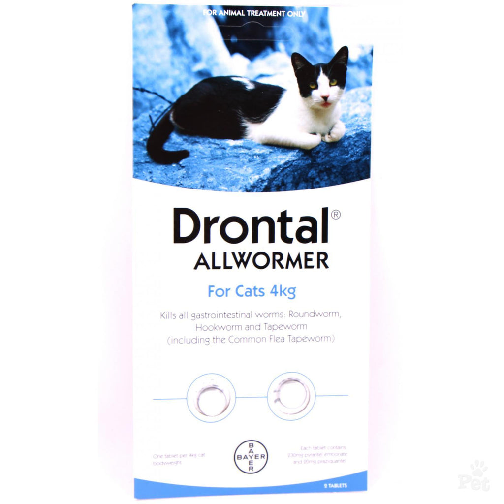 Drontal Allwormer for Cats up to 4kg