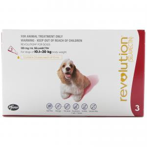 Revolution Medium Dog 10-20kg