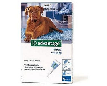 Advantage Extra Large Dog (25kg+)