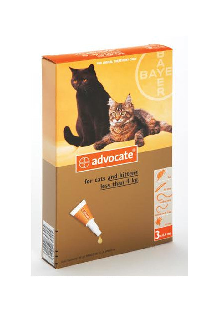 Advocate Small Cat & Kitten (up to 4kg)