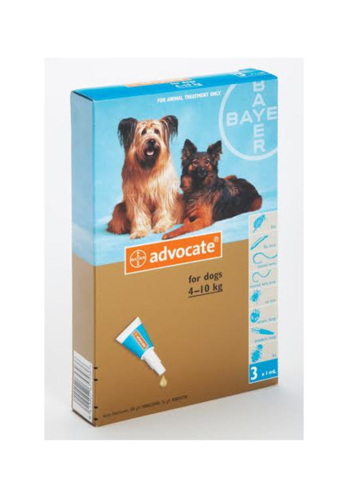 Advocate Medium Dog (4-10kg)