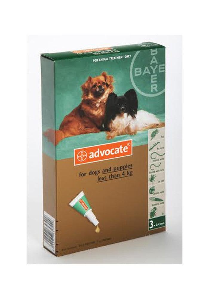 Advocate Small Dog (under 4kg)