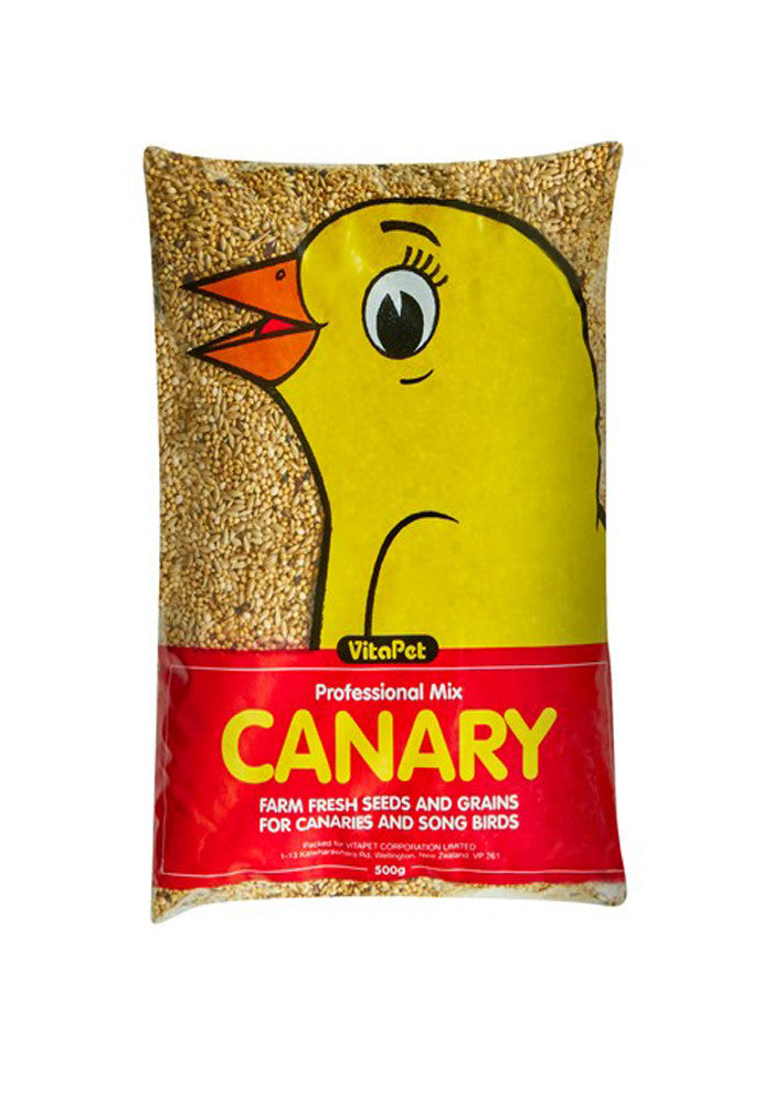 Vitapet Seed Canary Mixed 500g