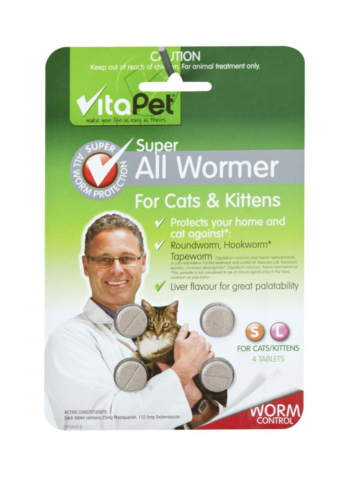 Vitapet Super Allwormer for Cats & Kittens