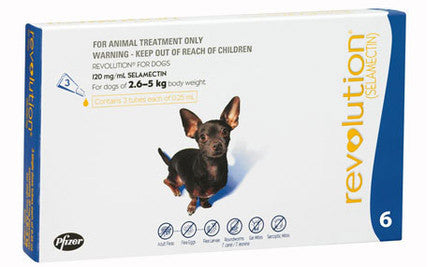 Revolution Extra Small Dog 2.5-5kg