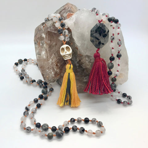 Bubble of Light Mala