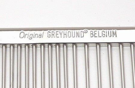 Original Greyhound Belgium Comb 7 1/8