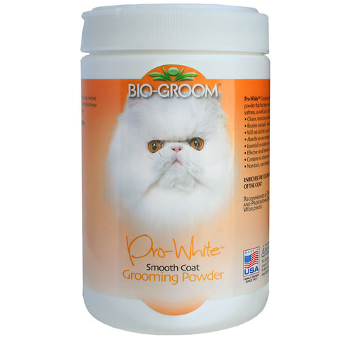 BIO-GROOM PRO WHITE GROOMING POWDER SMOOTH COAT