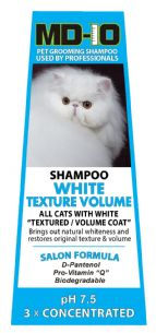 MD 10 White Texture Volume Shampoo