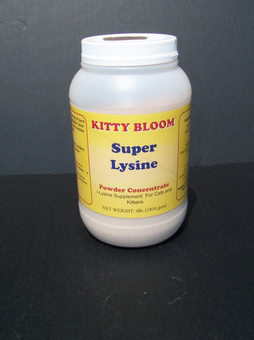 Kitty Bloom Super Lysine 4 lb.