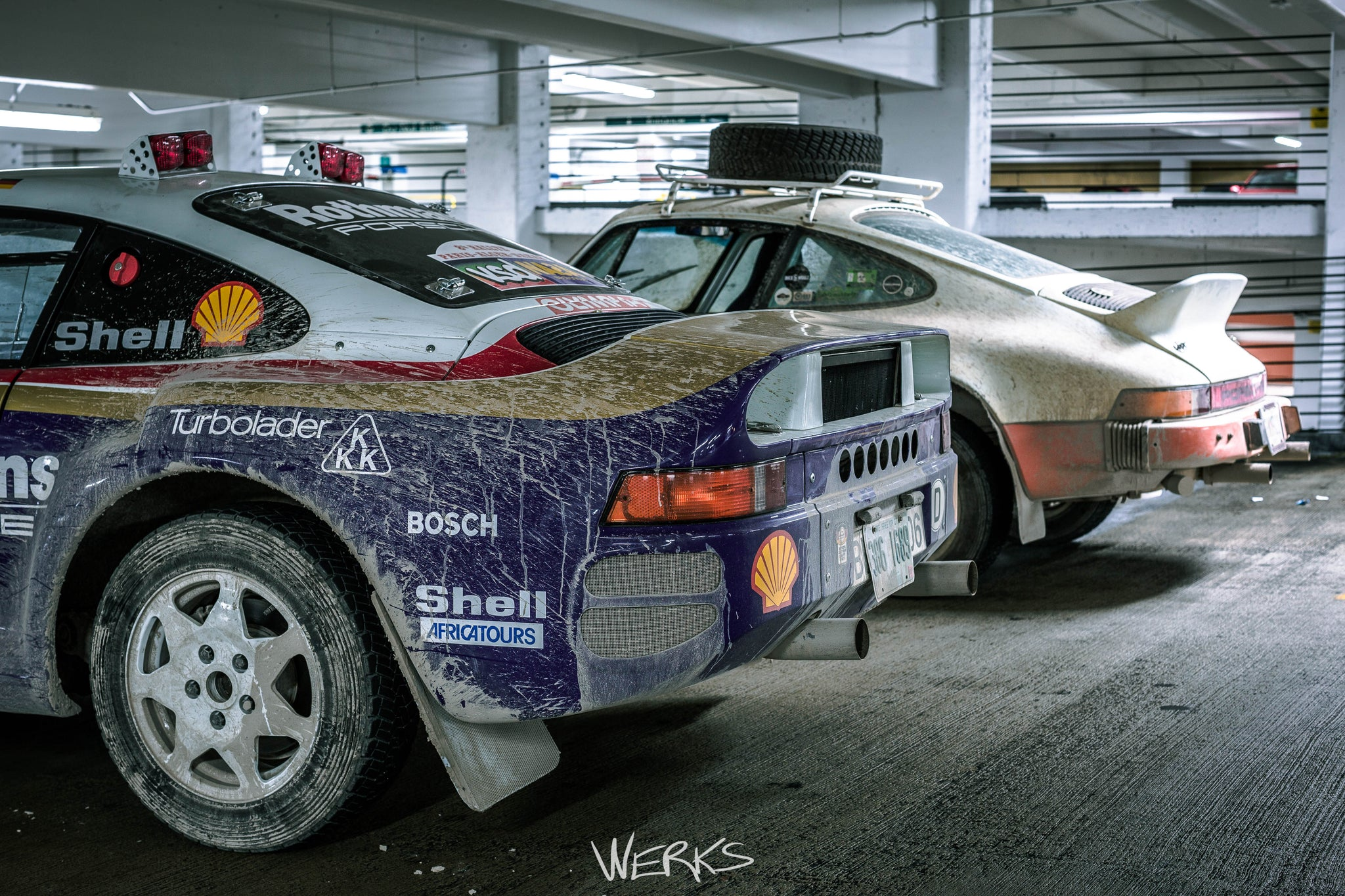 Porsche 959 Dakar Rally Tribute