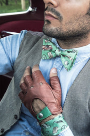 The Outlierman Bow Tie - The Gentleman Driver - Green