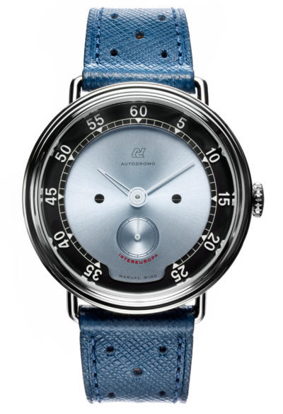 Intereuropa Manual Wind - Silver Blue Dial