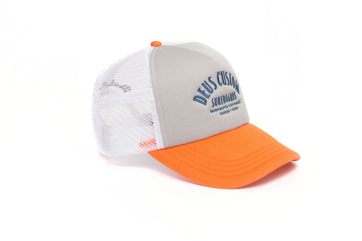 Deus Pumice Trucker Hat - Orange