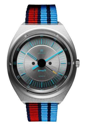 Autodromo Group B Evoluzione Watch - Blue / Silver
