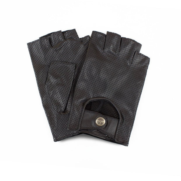 The Outlierman Gloves - The Bad One Fingerless - Black