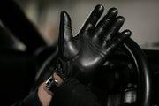 Stringback Driving Gloves - Black