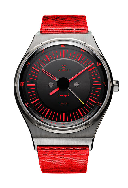 Autodromo Group B Watch - Red