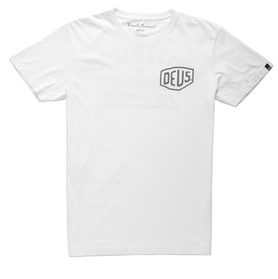 Deus Ex Machina Camperdown Address T-Shirt - White