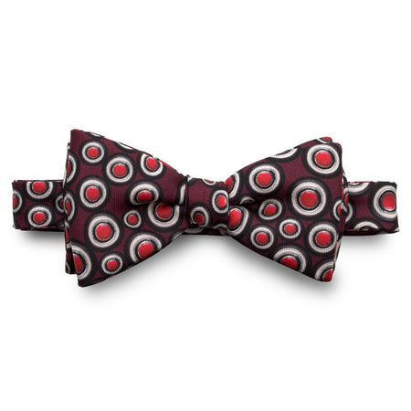 The Outlierman Bow Tie - The Signature Wheel - Bordeaux