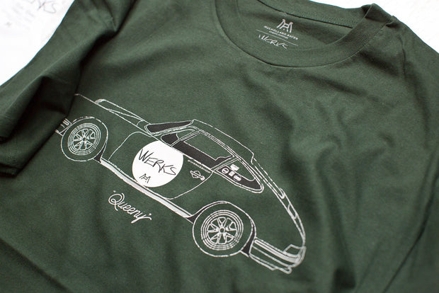 "Werks // Mulholland Racer ""Queeny"" T-Shirt"