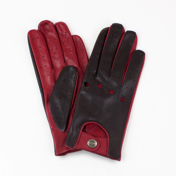 The Outlierman Gloves - Ladies The Heritage - Black / Crimson