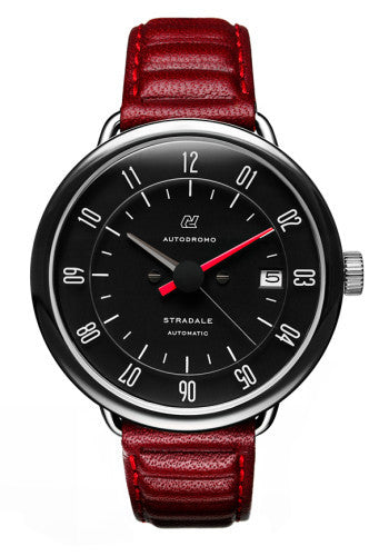 Autodromo Stradale Automatic Watch - Black Dial