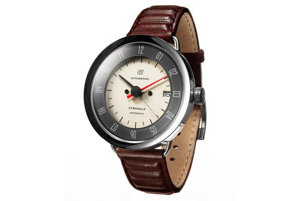 Autodromo Stradale Automatic Watch - Cream Dial