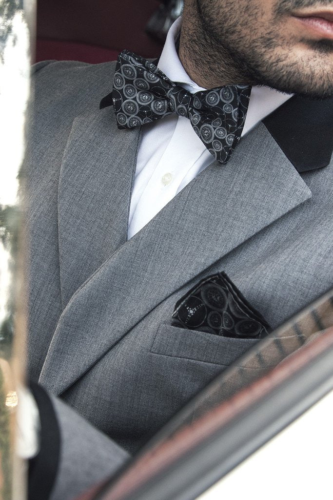 The Outlierman Bow Tie - The World Beater - Black