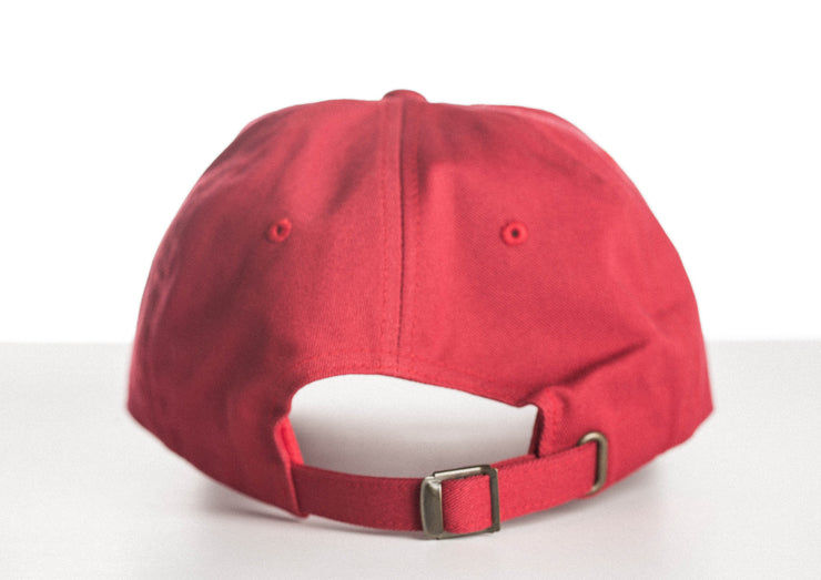 Dad Hat - Cranberry