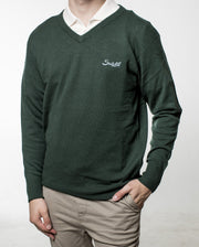Suixtil Monza Cashmere Sweater - Dark Green