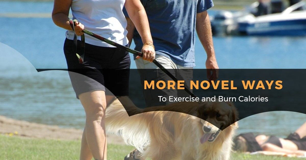 More Novel Ways To Exercise and Burn Calories