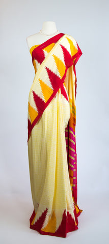 Buttersilk Saree Three